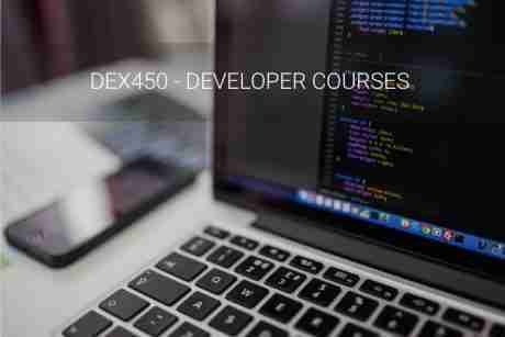 Programmatic Development using Apex and Visualforce in Lightning Experience (DEX450), 21 - 25 September, Virtual