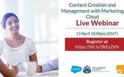 Content Creation and Management with Salesforce Marketing Cloud